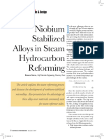Niobium Stabilized Alloys in Steam Hydrocarbon