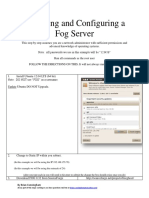 Installing and Configuring a Fog Server 1