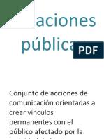 Relaciones Públicas MATERIAL