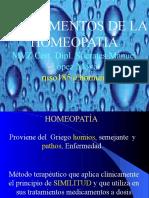 homeopatìa fundamentos