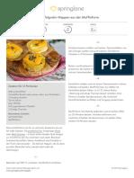 Kartoffelgratin-Happen Aus Der Muffinform