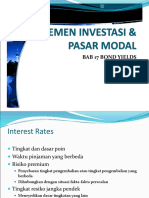 Bab 17 Bond Yield and Price