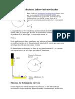 Ecuación de La Dinámica Del Movimiento Circular