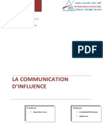 Rapport-communication d Influence