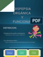 Dispepsia Funcional y Orgánica