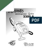 Polti Vaporetto 2200r