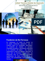 Exposicion de Fundicion