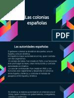 Sociales 7 Las Colonias Españolas