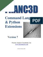 FRANC3D V7 Commands Python
