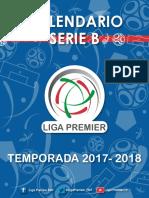Calendario Segunda Premier