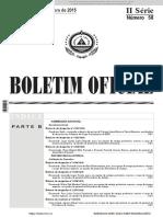 BO OACV 2015 - Regulamento de Estágio