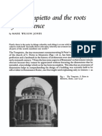 Mark Wilson Jones, The Tempietto and the Roots Of Coincidence