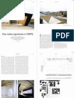 Une icône japonaise a l'EPFL - Mounir Ayoub