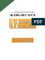 Edgar Cayce Atlantida