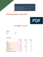 Presupuesto mensual (1)