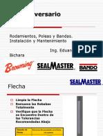 Presentacion Chumaceras Poleas Bandas