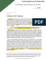 Investigacioìn - Case 3 - Callaway