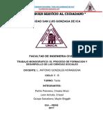 Desarrollo de Las Ciencias Sociales(Trabajo Monografico)