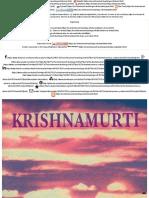 La Libertad Primera y Última - Libro Escrito Por Jiddu Krishnamurti