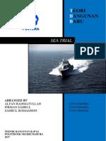 Makalah Sea Trial (Teori Bangunan Baru)