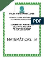 Cuaderno de Matematicas 4