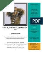 Guia Nutricional Deportiva Chewbacca
