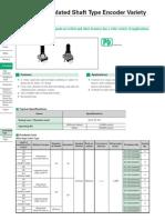 EC12E Encoder Datasheet