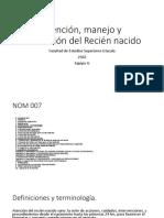 Atención evaluación y evolución del recien nacido sano.pptx