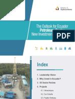 Presentación Oportunidades en el sector petrolero de Ecuador