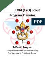 EYO Scouting 14-Week Calendar