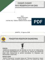 Dasar-Dasar Reservoir Engineering