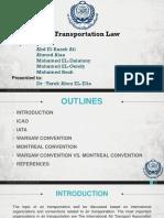 Air Transportation Law