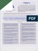 CUESTIONARIO DE ASERCIÓN DE PAREJA FORMA B