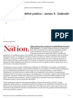 En Defensa Del Déficit Público _ James Galbraith