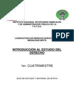 Introducion Al Estudio Del Derecho 1er. Cuatrimestre