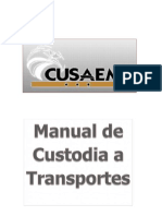 Custodia a Transportes
