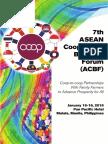 7th ACBF Souvenir Programme
