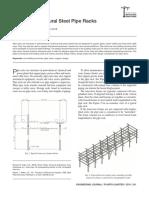 Design of Structural Steel Pipe Racks Part 1