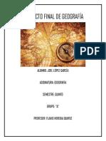 Proyecto Final Geografía