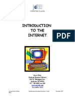 Internet Introduction With Instructor Notes