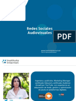 Redes Sociales Audiovisuales Sesion 03-11-16