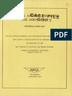 Naca Lift Distribution