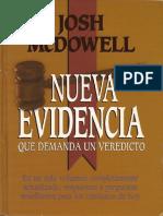 McDowell, Josh - Nueva Evidencia Que Demanda Un Veredicto
