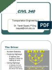 Civl 340- Lecture 2 - The Driver(1)