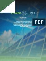 Power Ledger Whitepaper v3