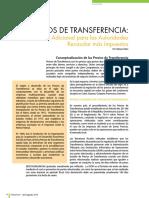 Precios de Transferencia Método Adicional Para Las Autoridades Recaudar Más Impuestos