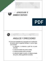 Angulos y Direcciones