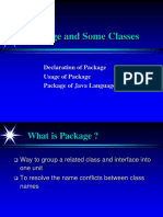 Packages Classes