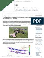 Spar Design of a Fokker D-VII _ Aerospace Engineering Blog