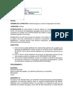 Práctica de Laboratorio (Calidad de Papel y Niveles de Degradación de Tintas)
